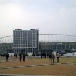 Het Olympisch stadin in Kiev