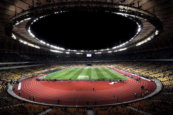 NSK Olimpiejsky stadion in Kiev