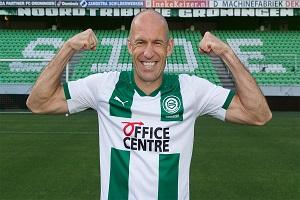Arjen Robben terug naar FC Groningen