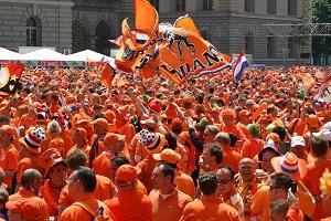 Oranje interlands in september, oktober en november