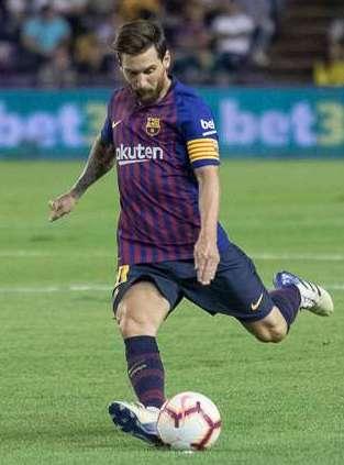De wissel Leo Messi PSG